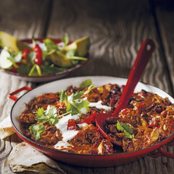 Chicken Chilli Con Carne with Avocado