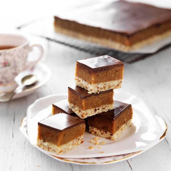 Gluten-free choc-caramel bites