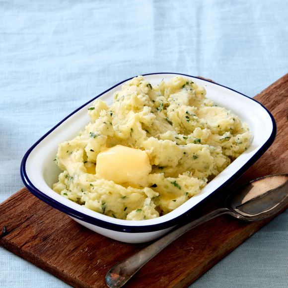 The best Garlic and Herb Mash