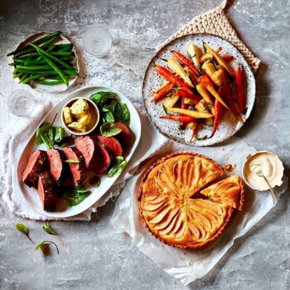 modern australian sunday roast dinner menu