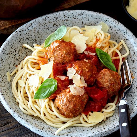 Cheesy meatballs recipe
