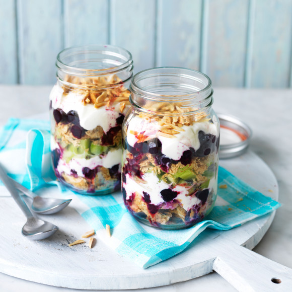 Weet-Bix Breakfast in a jar
