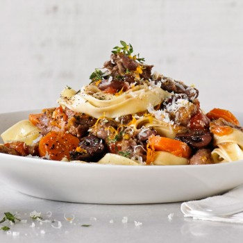 Oxtail Ragu Pappardelle recipe