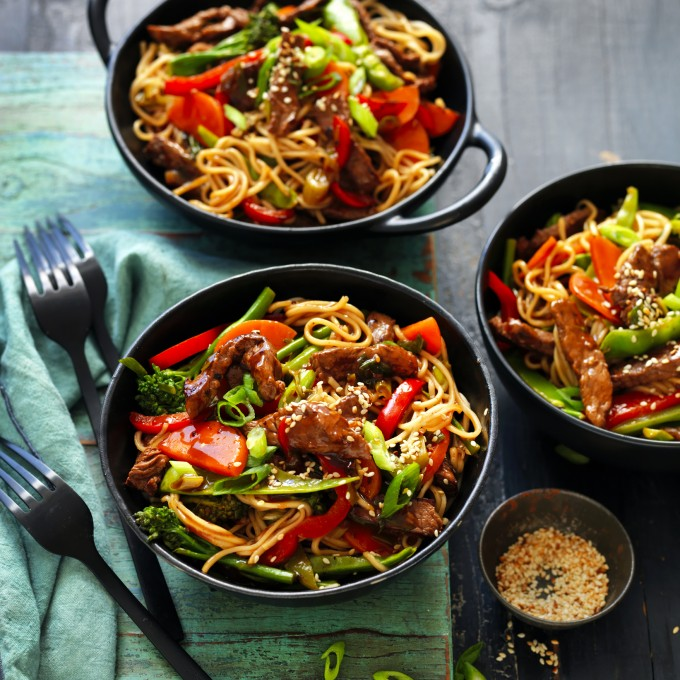 Teriyaki Beef Noodles recipe