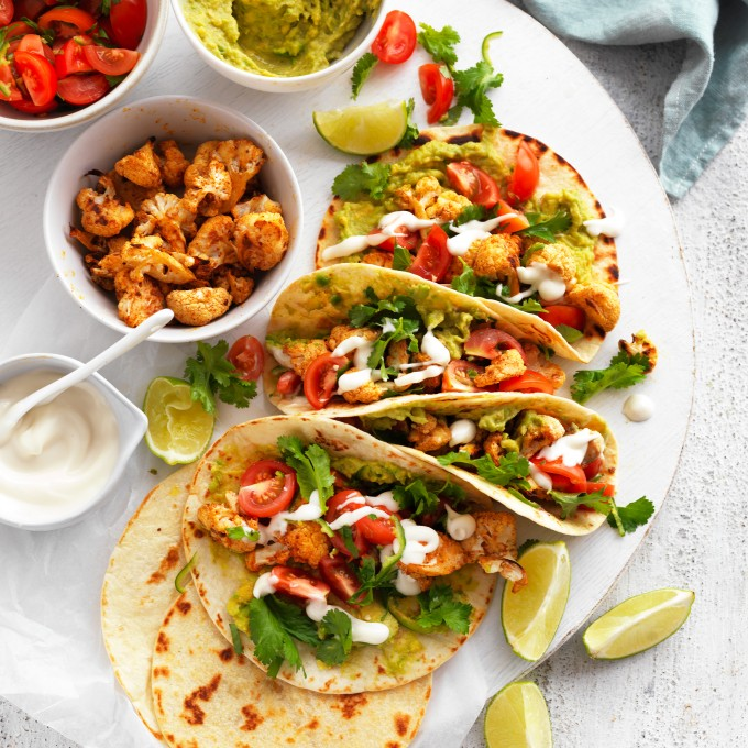 Vegan Cauliflower Tacos recipe