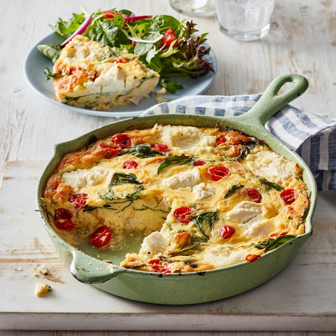 Chicken And Vegetable Frittata Recipe Myfoodbook Chicken And Vegetable Frittata