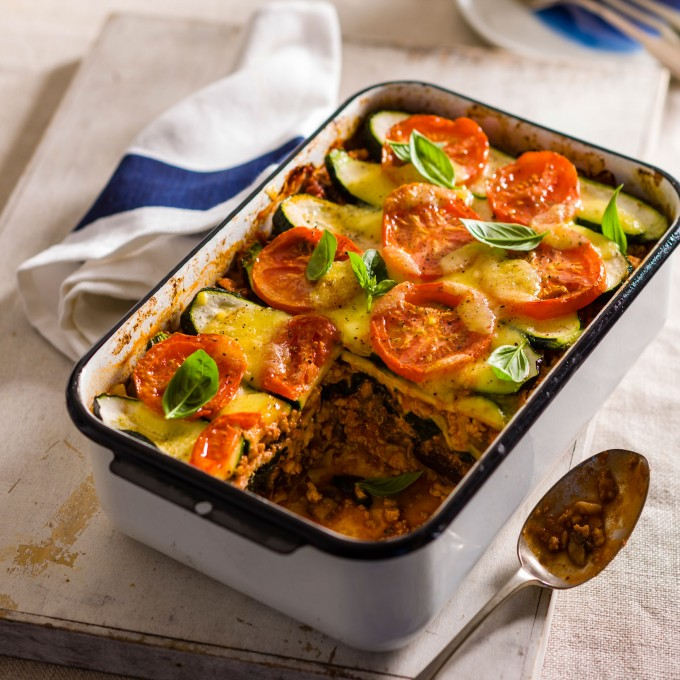 Healthy Turkey and Vegetable Lasagne